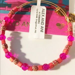 Alex And Ani Coral dragonfruit